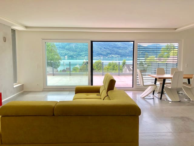 Exklusives Penthouse direkt am Wörthersee