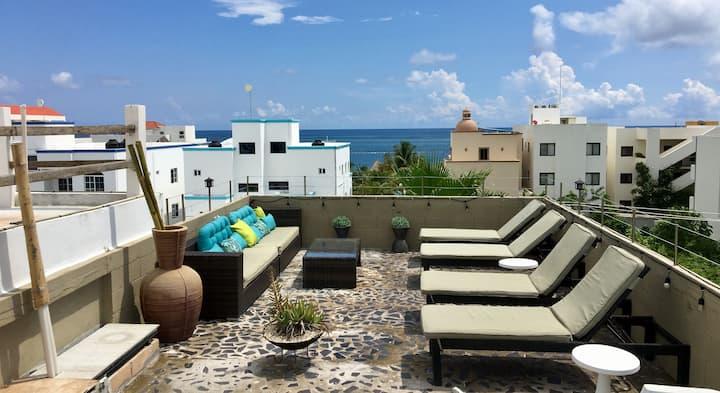 Aqua 1 ,one BR at great location in Puerto Morelos