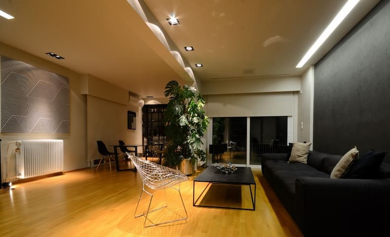 5th floor Loft in Palaio  Faliro Acropolis view