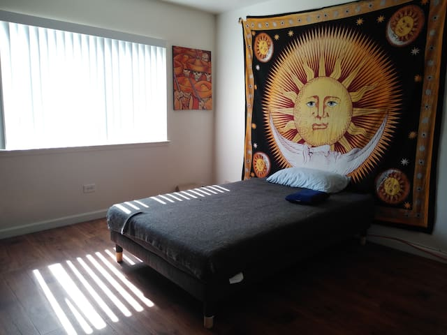 Clean room with Large Twin Size Bed(could fit 2)