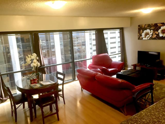 Spacious Hotel/Apartment in Downtown with Parking
