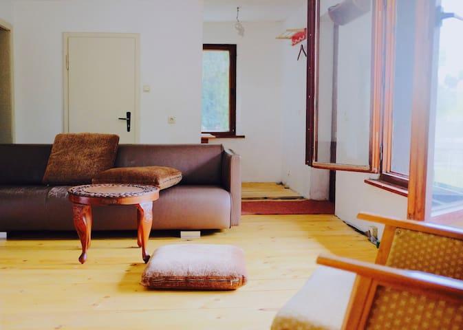 Puristisches Ferienhaus am Waldrand
