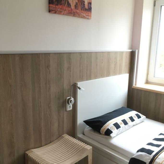 Zimmer #1 - Einzelzimmer