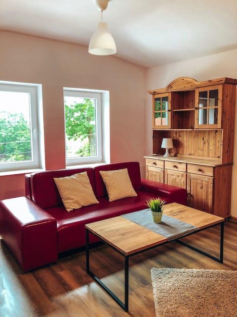 Nowe, piękne mieszkanie blisko jeziora Ołów