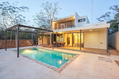 CASA GAYOS, suite planta alta c/ terraza, piscina