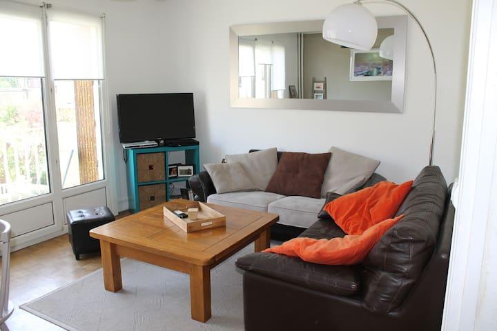 Appartement chaleureux bord de mer - Sainte-Adresse - Flat