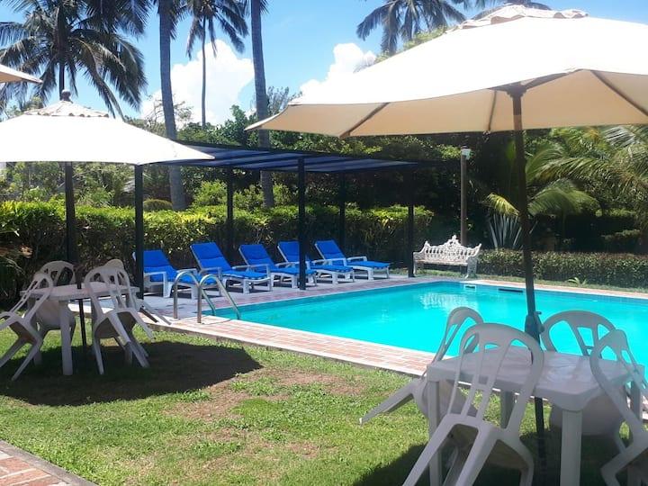 Casa en Costa Esmeralda 🌴🌴🌴☀️🏊