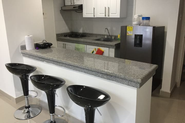 Studio in Novalito neighborhood 2 - Valledupar - Apartment