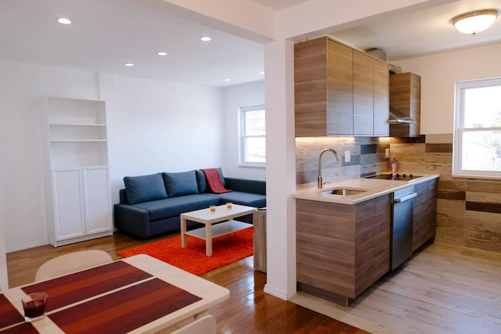 Newly Renovated Apt, 10min. from Midtown Manhattan - Union City - Wohnung