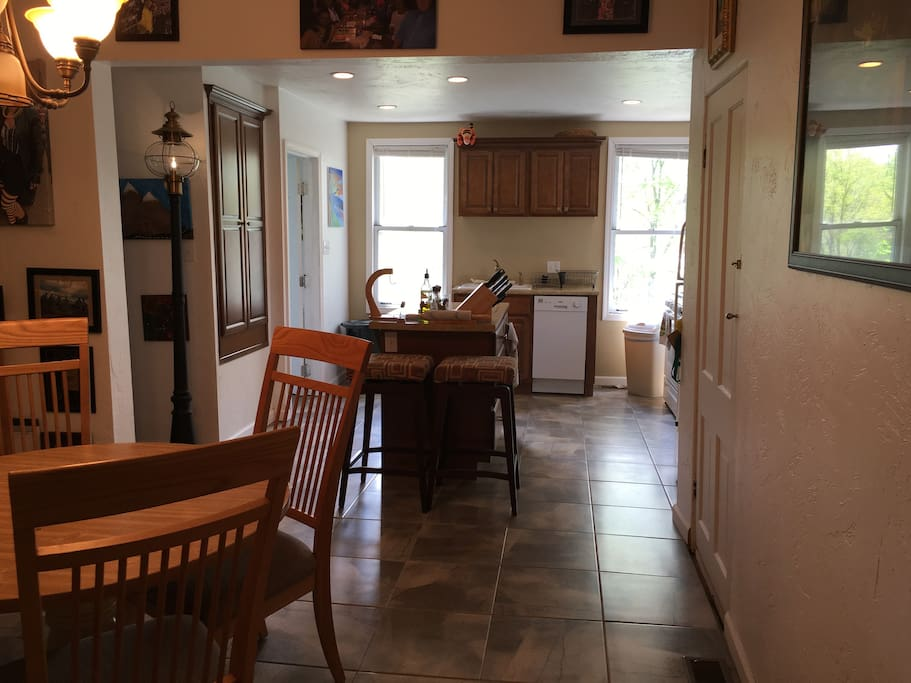 Dining Rm and Kitchen