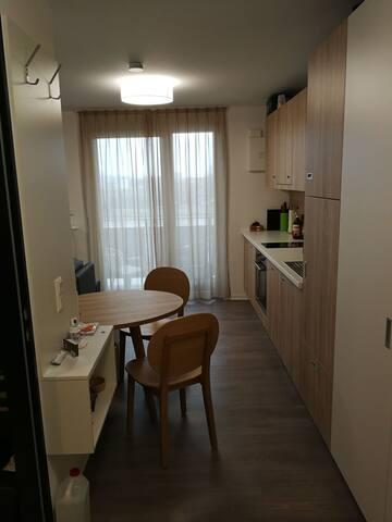 Appartement mit Main Blick und Fitness Studio