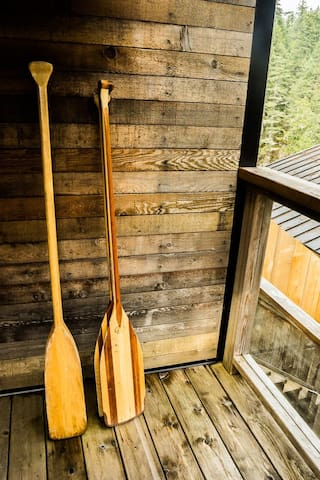 Treehouse Canoes free to use in season of May 15 - September 30 only!