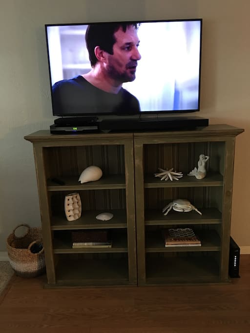 "50"" 4K Television, Sony Surround System, Sony DVD Player"