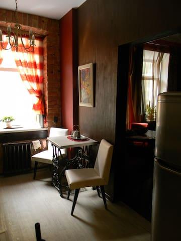 Квартира художника в центре города - Sankt-Peterburg - Apartment