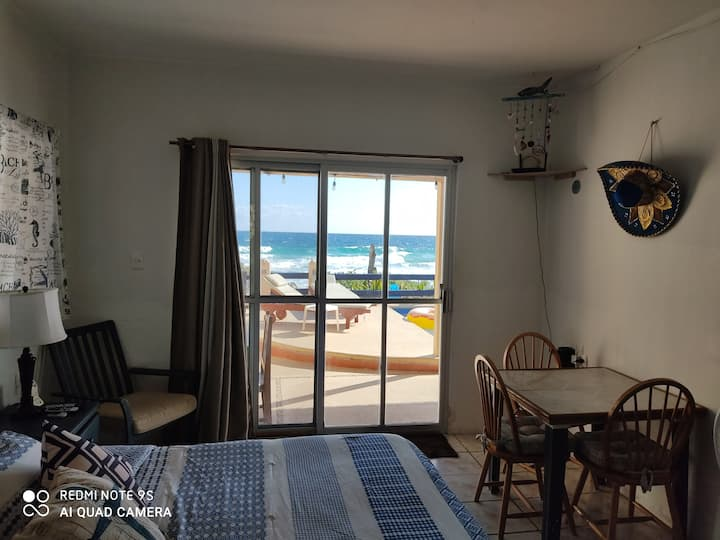 #1 Ocean front Studio ¡perfect for a couple!