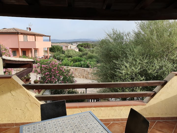 Apartament with garden Le perle rosa 500mt sea
