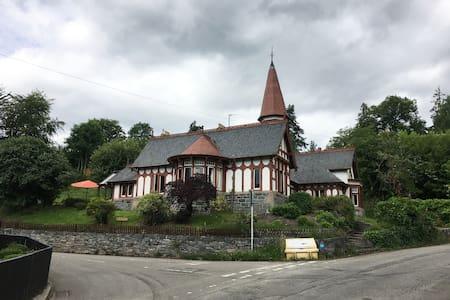 Unique Arts & Crafts house in historic spa village
