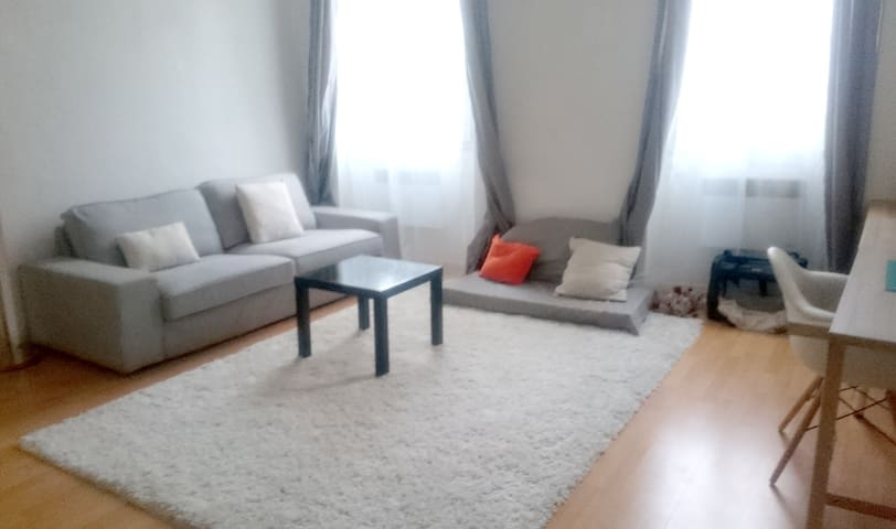 Appartement T2 bien situé, séjour entre amis