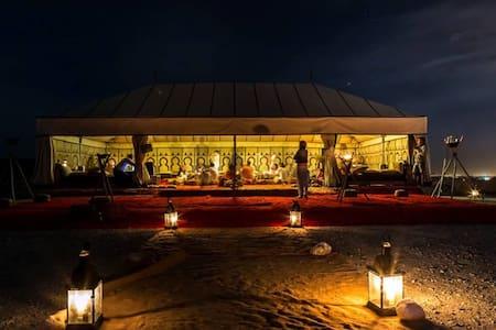 OVERNIGHT IN THE DESERT - Tent