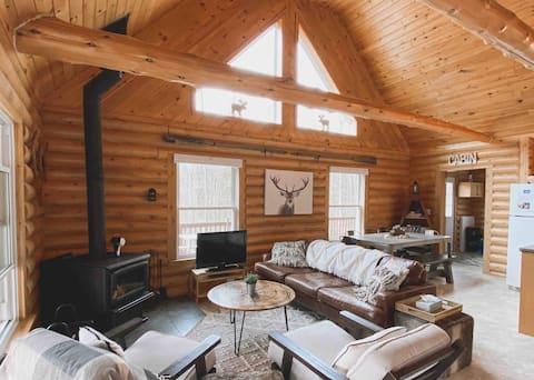 Fireside Cottage (modern-rustic getaway)