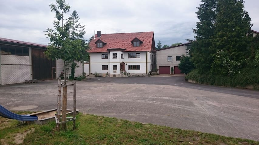 Apartment on the horse farm