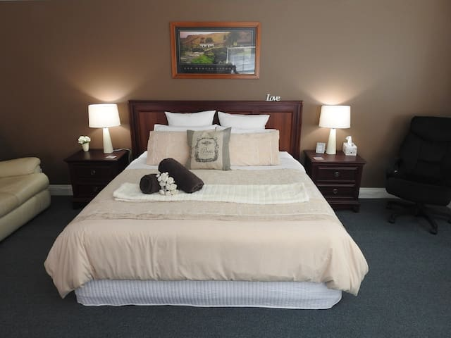 Luxurious King Executive Suite to relax in...