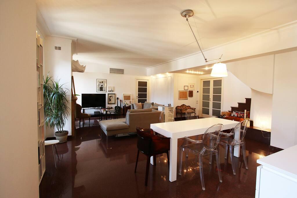fourth floor - living