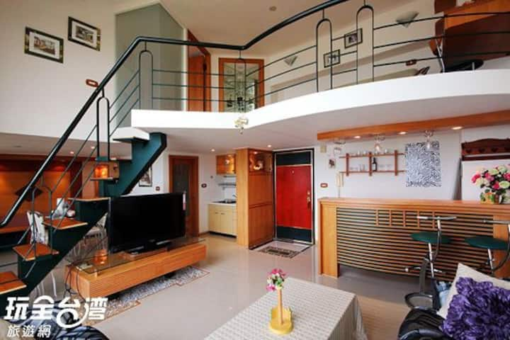 北海岸無敵海景2~4人房-《附有簡易廚房》