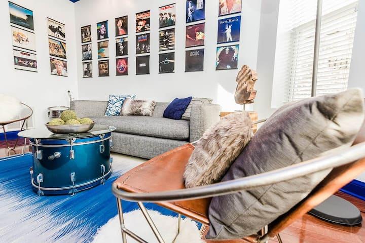 Hip Music Themed Apartment