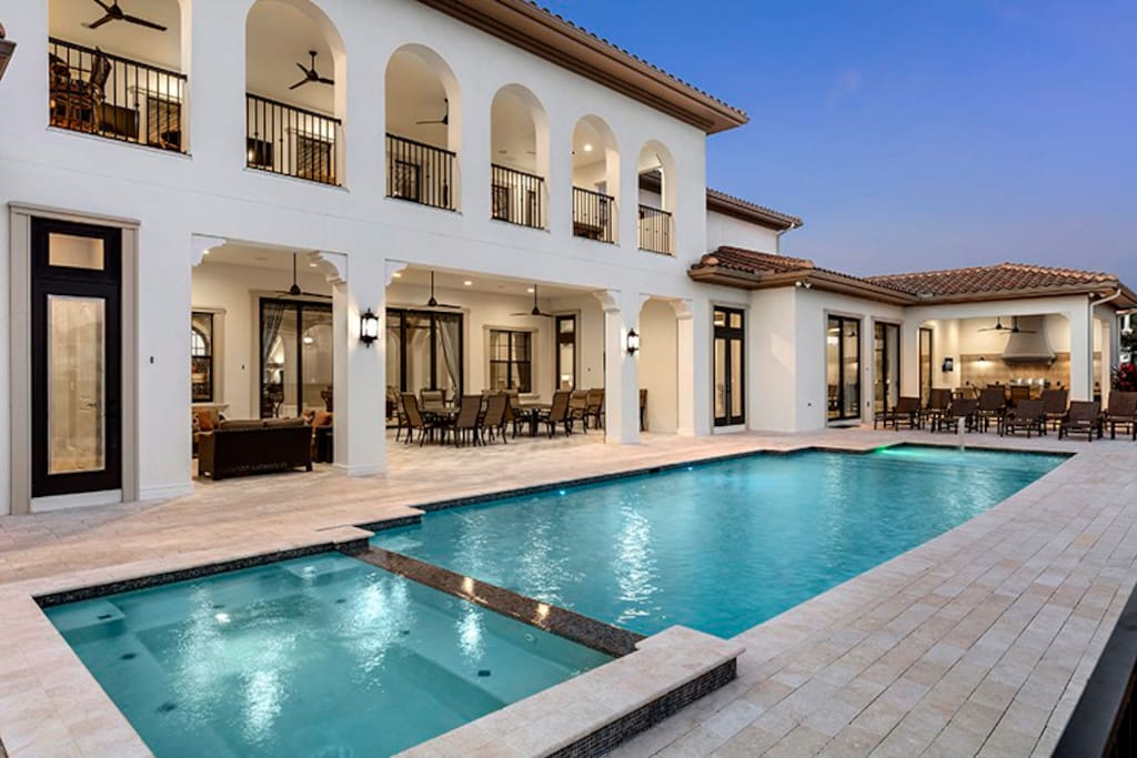 Enjoy your own private pool at all hours of the day