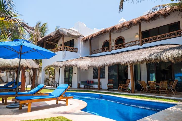 Casa Magica-Caribbean Beachfront Villa-Akumal