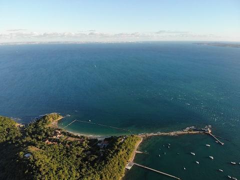 5S - Um verdadeiro paraíso na Ilha dos Frades!!