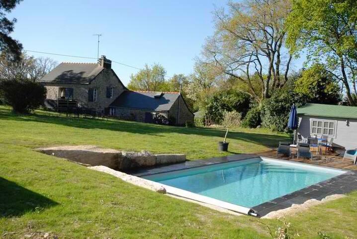 Maison piscine priv /port de foleux - Péaule - Haus