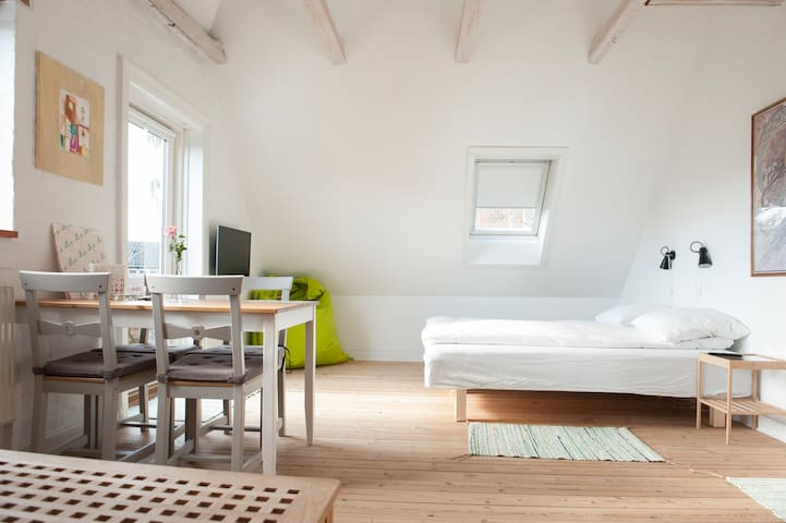 Bed and Breakfast in Copenhagen up to 6 persons.