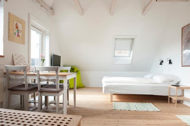 Bed and Breakfast i København. Plads til 6.