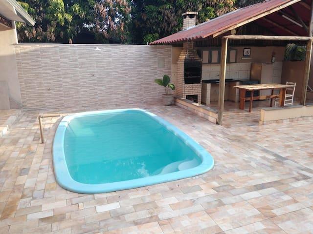 rancho com piscina em presid ente epitacio
