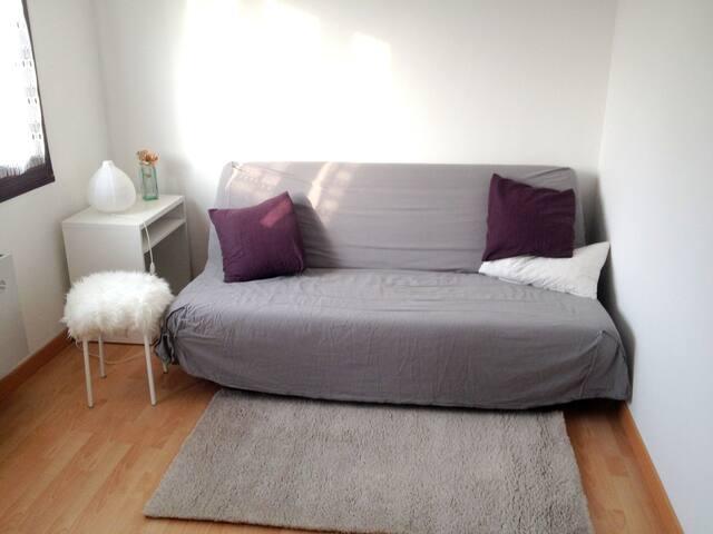 Chambre cosy et calme proche de Strasbourg. - Hœnheim