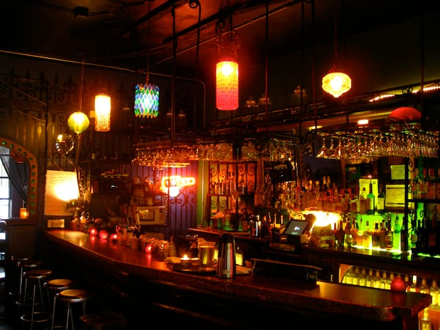 Neighborhood bars and restaurants