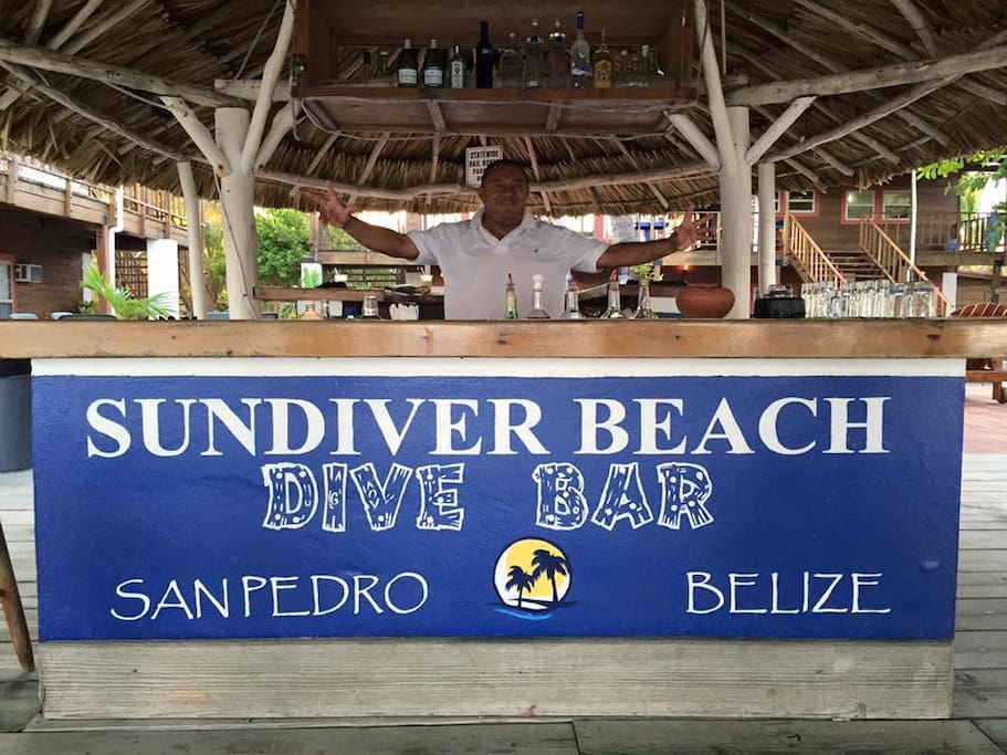 Welcome to your private beach bar!