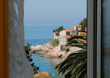 Onebedroom apartment (2+2)-view on Sveti Stefan #2 - Sveti Stefan - 公寓