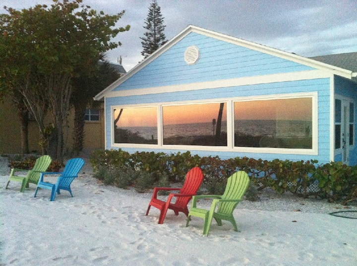 Beautiful Beachfront Siesta Key Home