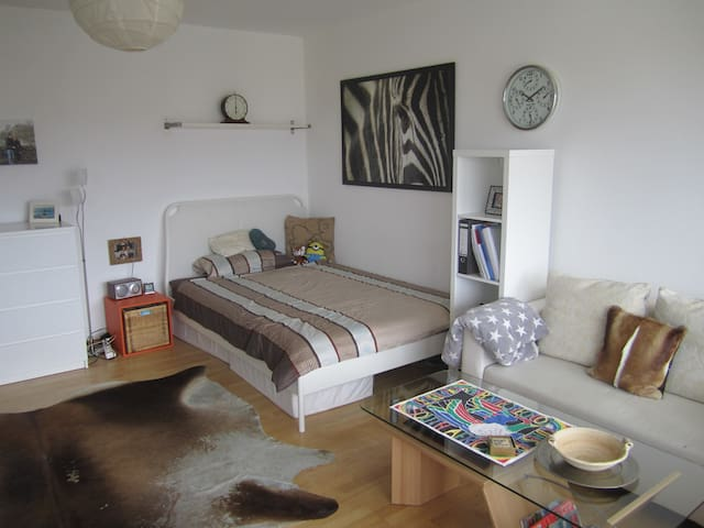 Central one-room (34qm) apartment with great view - Munich - Appartement en résidence