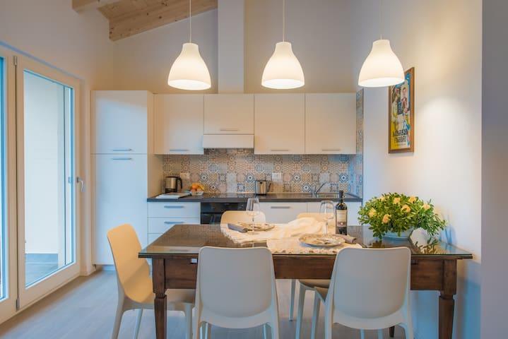 Two apartments: Torre e Castagner - Drena - Huoneisto