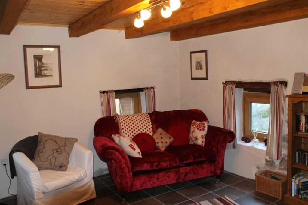 Delightfully furnished lounge