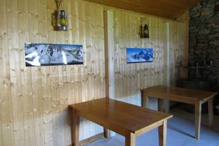 3 lits dans refuge de montagne -  Saint-Martin-de-Belleville - Chalet
