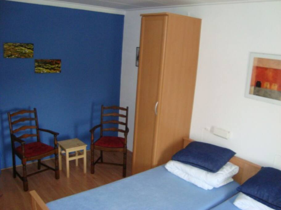 2-pers. kamer met wastafel
