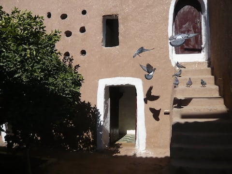 The Pigeon House; The Authentic Morocco!