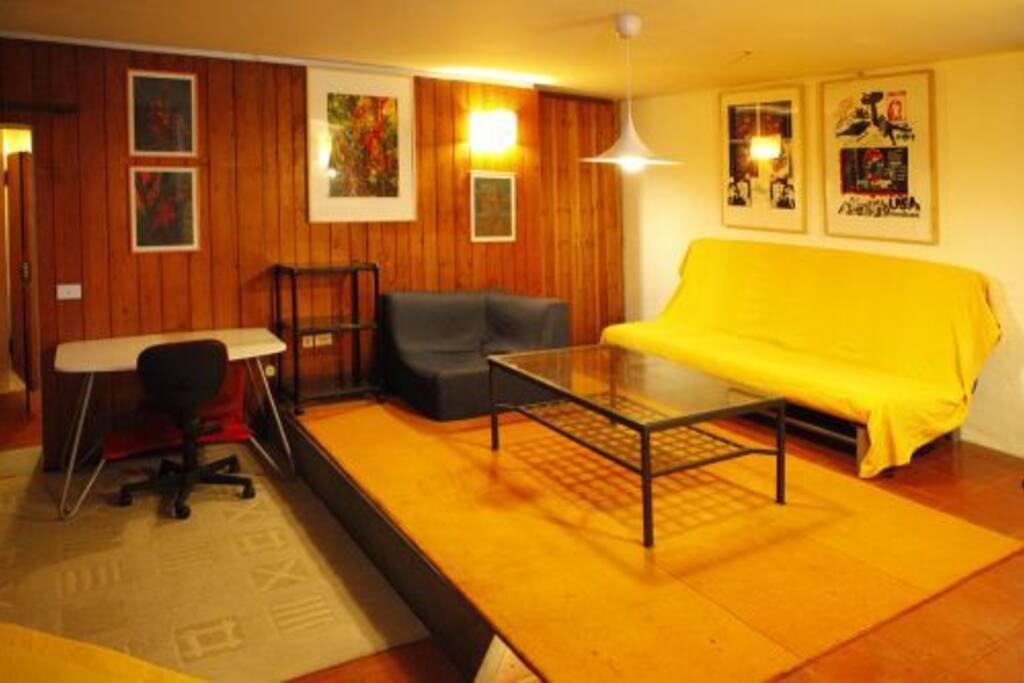 Apartment in quiet residential area