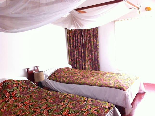 Tall Trees & Turacos - Twin Room - Kampala - Dom