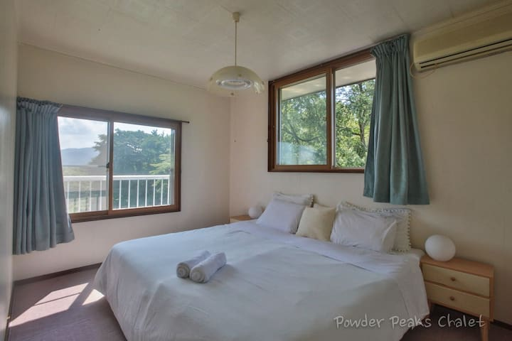 The chalet has 5 beautiful and spacious bedrooms